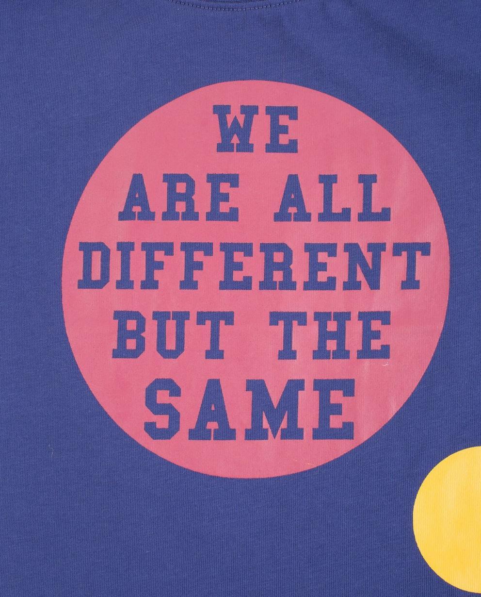 T-shirts - navy - Paars T-shirt ZulupaPUWA - Unisex